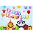 Birthday background vector