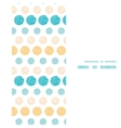 Texture circles stripes abstract vertical frame vector