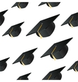 Student hat background vector
