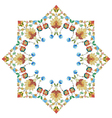 Artistic ottoman pattern series thirty five vector