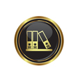 Folders icon vector