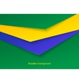Abstract seamless brazilian background vector