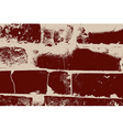 Distressed brick texture vector