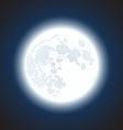 Moon background vector
