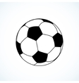 Icon of soccer ball vector
