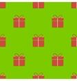 Gift box pattern vector