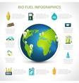 Bio fuel infographics vector