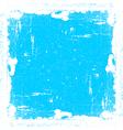 Cyan textured frame vector