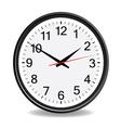 Clock black vector