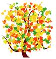 Autumn - fall tree vector