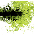 Black and green background vector