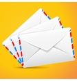 Group envelopes set of envelopes vector