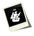 Pirate boat picture vector