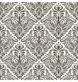 Seamless filigree vintage pattern vector