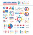 Infographic medical design elements set vector