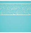 Seashell background vector