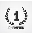 Laurel wreath for champion vector
