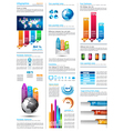 Infographics page vector