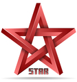 3d star icon vector