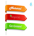 Set of ecology signs vector