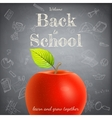Welcome back to school template eps 10 vector