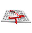 Maze or puzzle vector