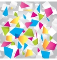 Light colorful abstract background with figures vector