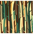 Trees pattern background color variation vector