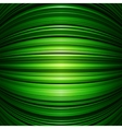Abstract green warped stripes background vector
