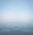 Abstract background blue sea vector