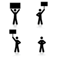 Protest icons vector