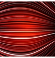 Abstract black and red warped stripes colorful vector