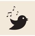 Icon twitter bird vector