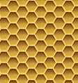 Create honeycomb background texture vector