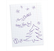 Christmas baby greeting card vector