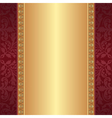 Maroon and gold background vector