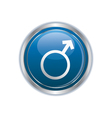 Male symbol icon vector