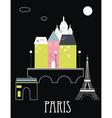 Paris france vector