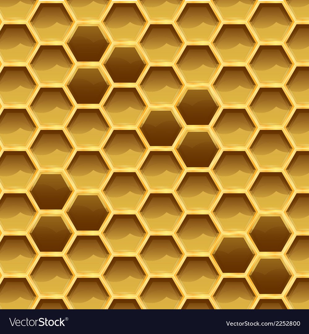 Create honeycomb with larvae texture vector | Price: 1 Credit (USD $1)