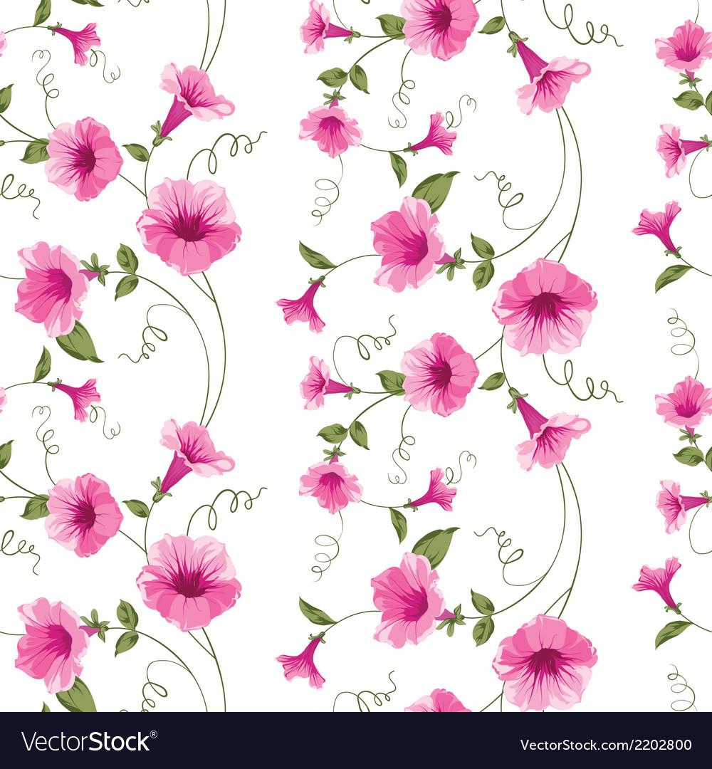 Design of vintage floral card vector | Price: 1 Credit (USD $1)