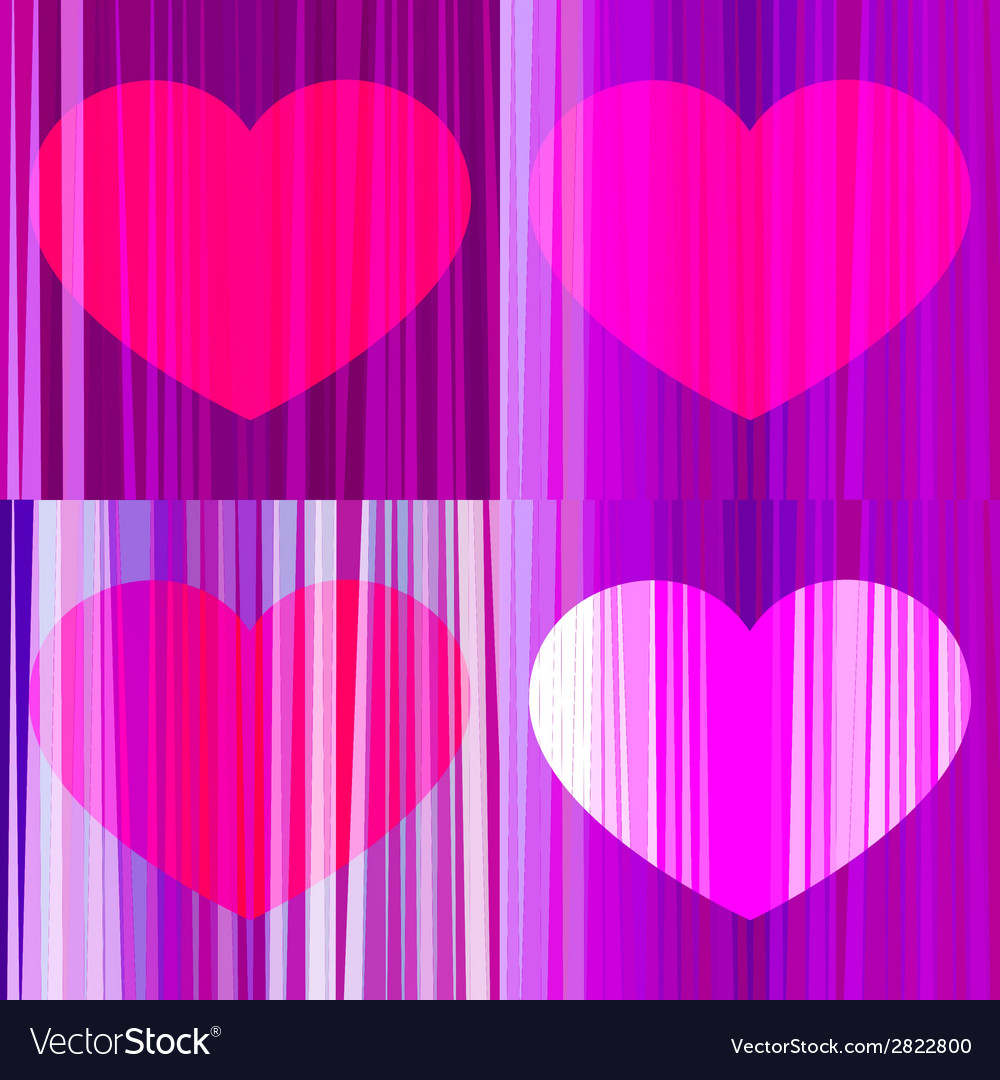 Set of hearts vector | Price: 1 Credit (USD $1)