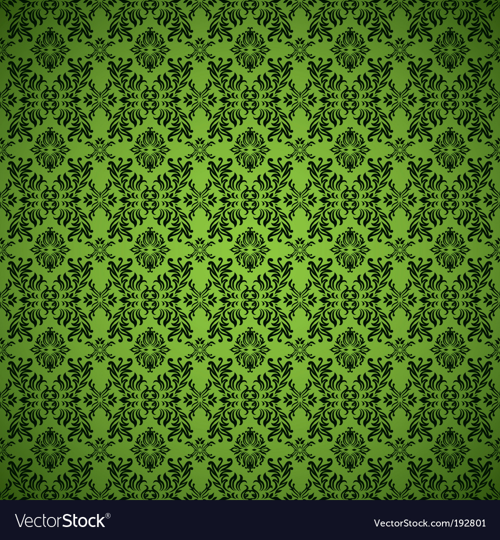 Gothic seamless wallpaper vector | Price: 1 Credit (USD $1)