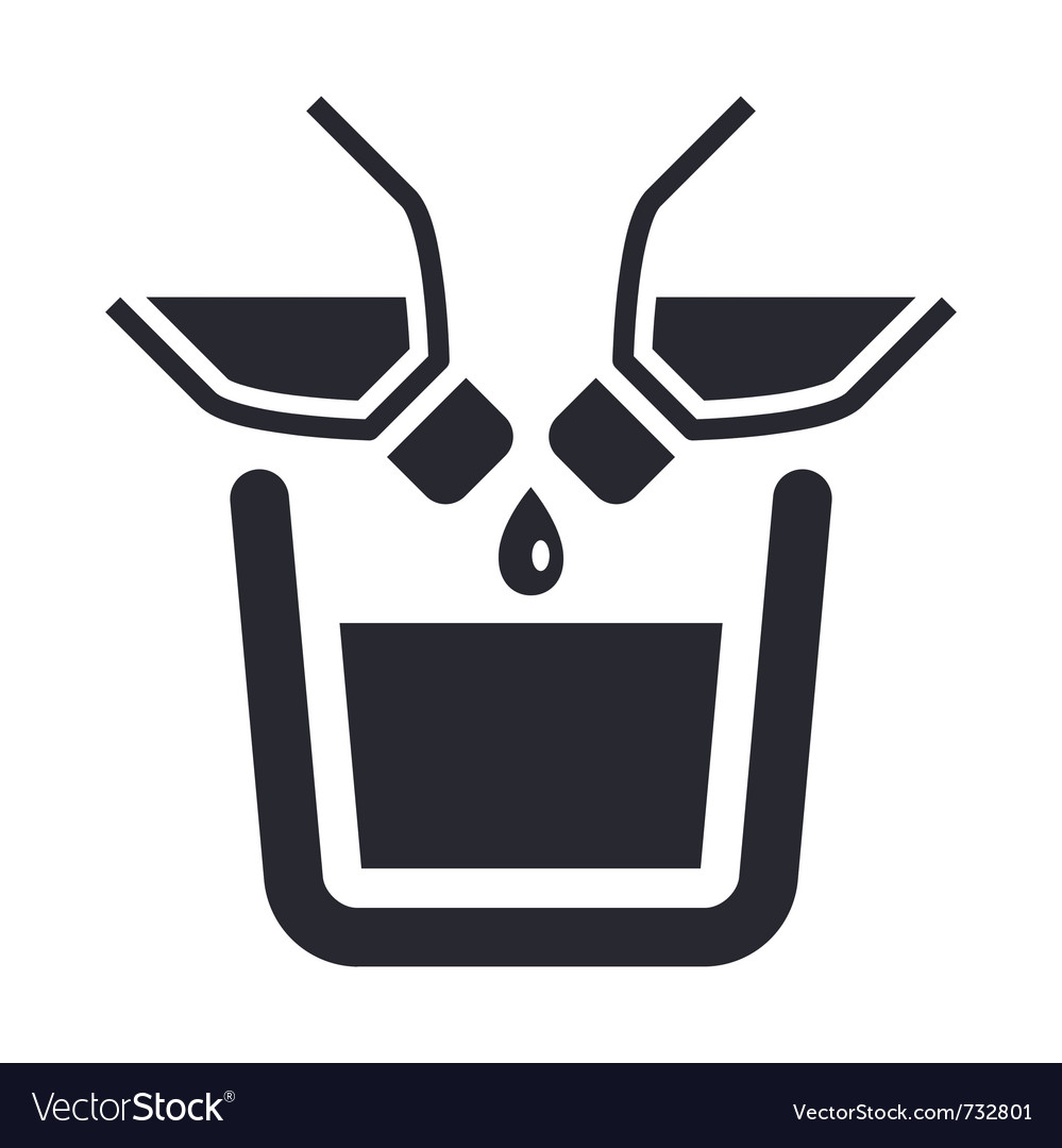 Liquid pour icon vector | Price: 1 Credit (USD $1)