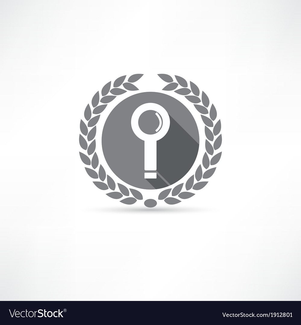Search icon vector | Price: 1 Credit (USD $1)