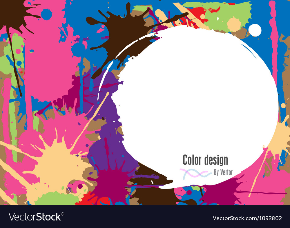 Abstract color vector | Price: 1 Credit (USD $1)