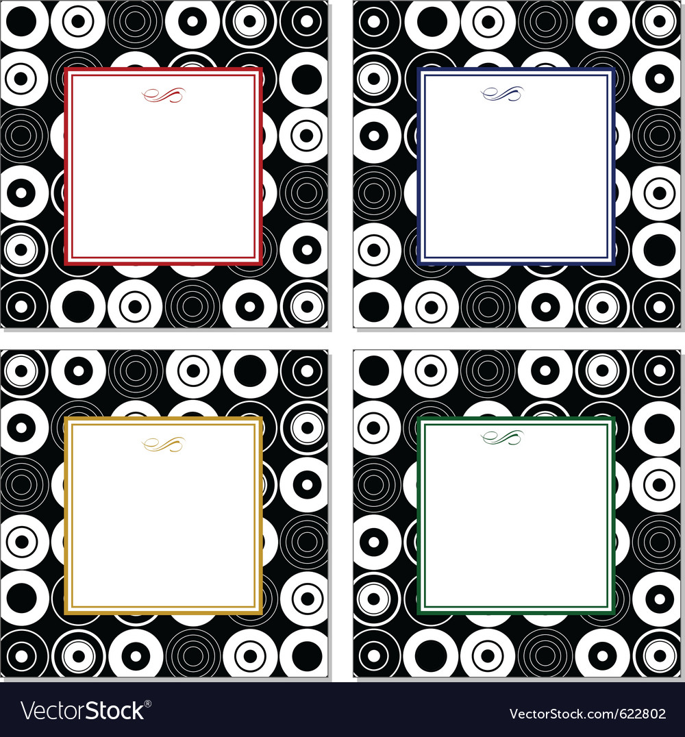 Abstract frames vector | Price: 1 Credit (USD $1)