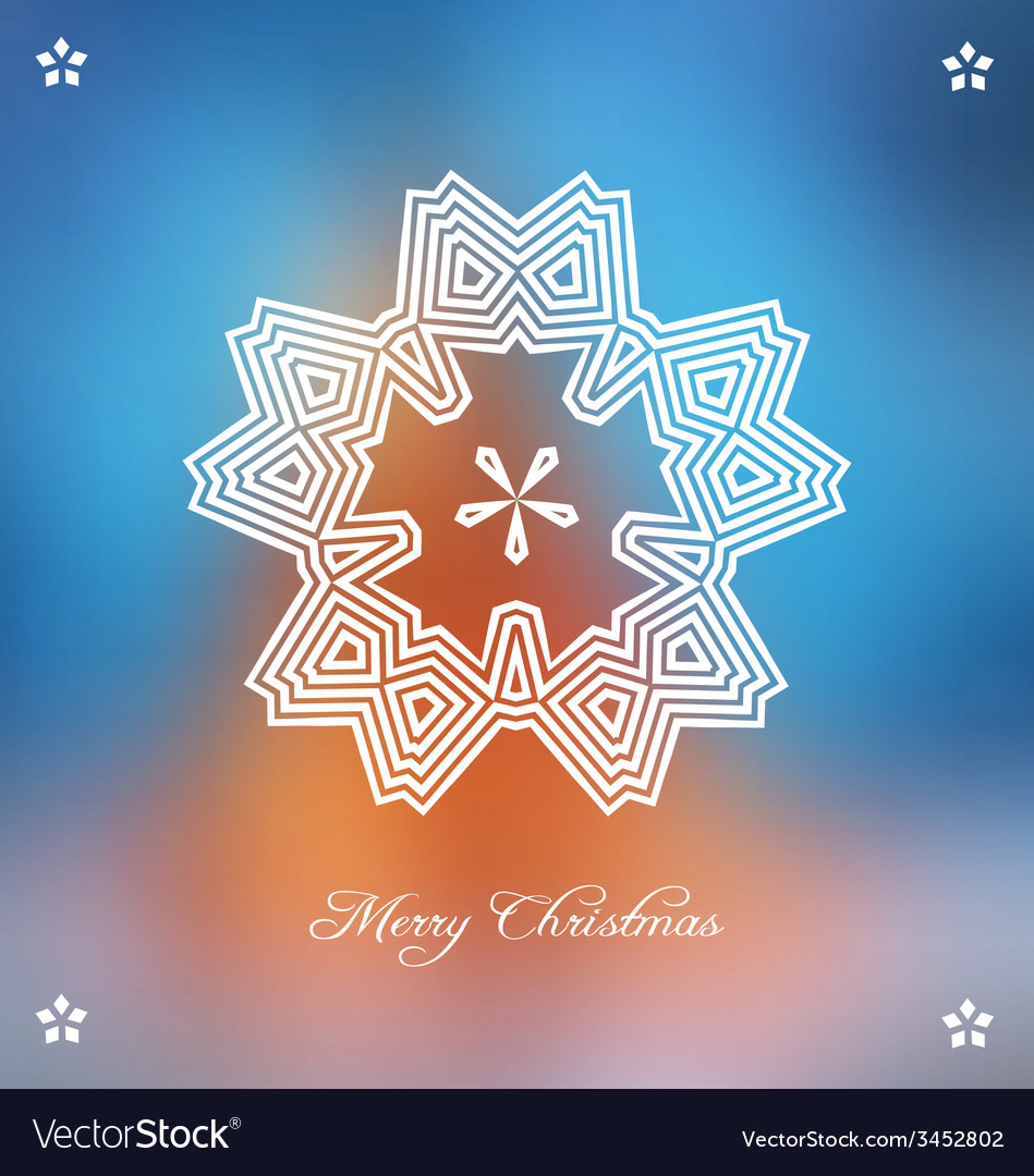 Christmas background with stylized embellishment vector | Price: 1 Credit (USD $1)