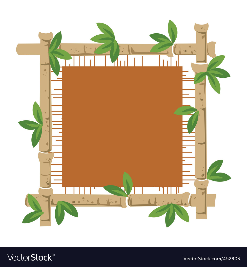 Bamboo and material vector | Price: 1 Credit (USD $1)