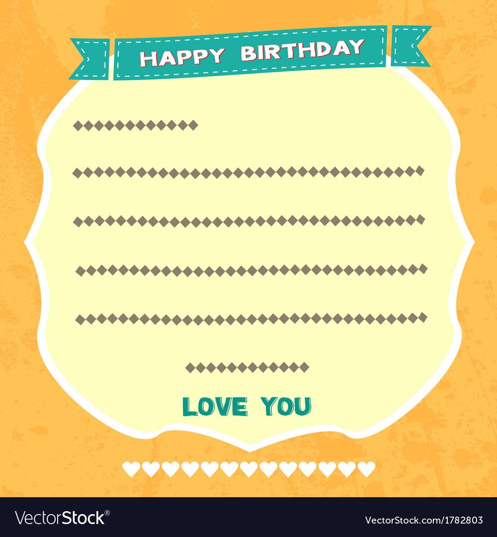 Birthday card3 vector   Price: 1 Credit (USD $1)