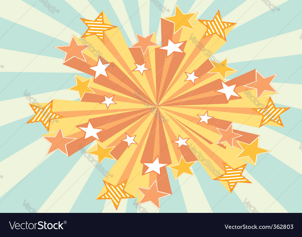 Grunge stars background vector | Price: 3 Credit (USD $3)